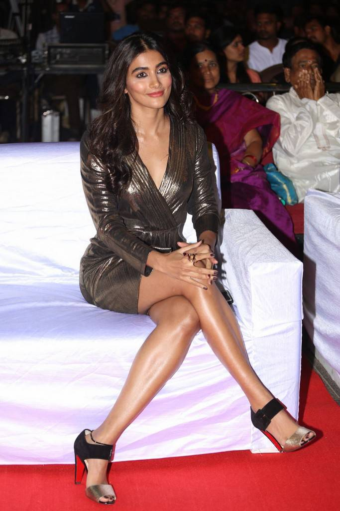 Pooja Hegde At DJ Movie Thank You Meet Gallery