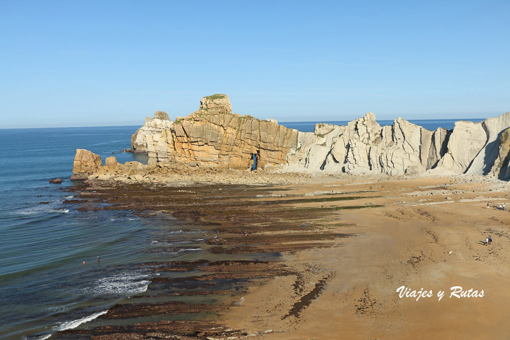 Playa de Portio, Costa Qebrada