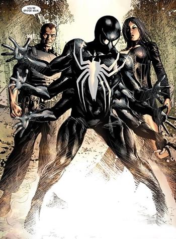 Ai Apaec se convirtió en Spiderman Oscuro