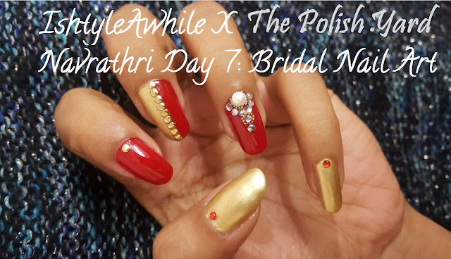 Navrathri Day 7: Nail Art for the Bride image