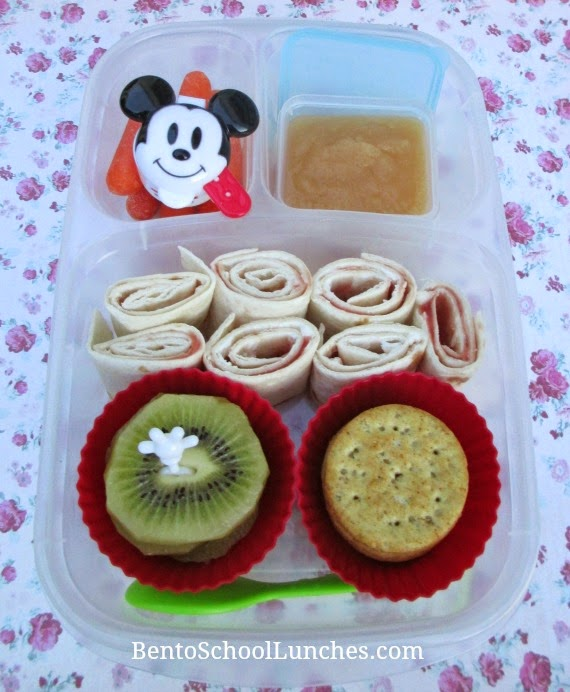 Tortilla roll-ups/pinwheels, BentoSchool Lunches