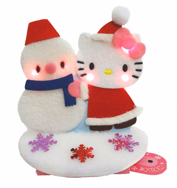 Hello kitty adorable christmas greeting cards arrival