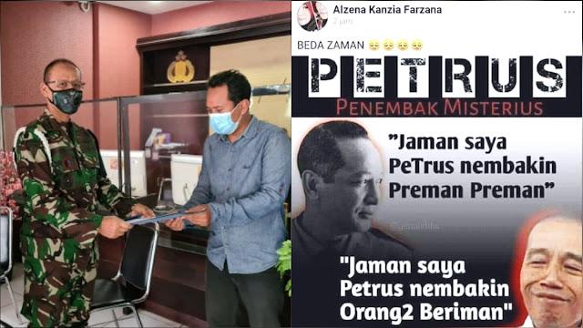 TNI AD Laporkan Akun Facebook ke Polda Jabar gegara Posting Ujaran Kebencian