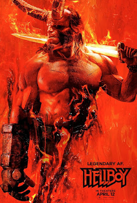 Hellboy  2019   DVD   R1   NTSC   Latino 