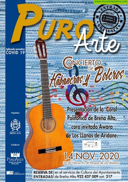 El Ayuntamiento de Breña Alta presenta este sábado en Los Álamos el 'I Encuentro de Habaneras y Boleros'