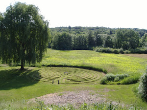 LABYRINTH IN SPRING