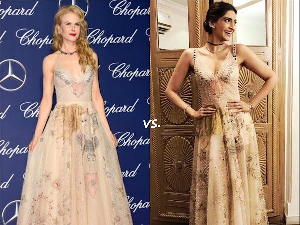 👗Nicole Kidman vs Sonam Kapoor