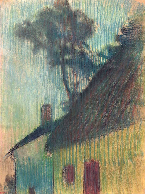 Эдгар Дега - Деревня Корнер (1895-1898)