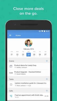 Screenshot Zoho Sales and Marketing - Apcoid
