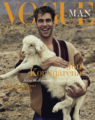 Supermodel Jon Kortajarena Covers Vogue Poland Man First Issue