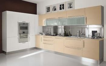 Home Inspirations: Minimalist Hanging Kitchen Cabinets