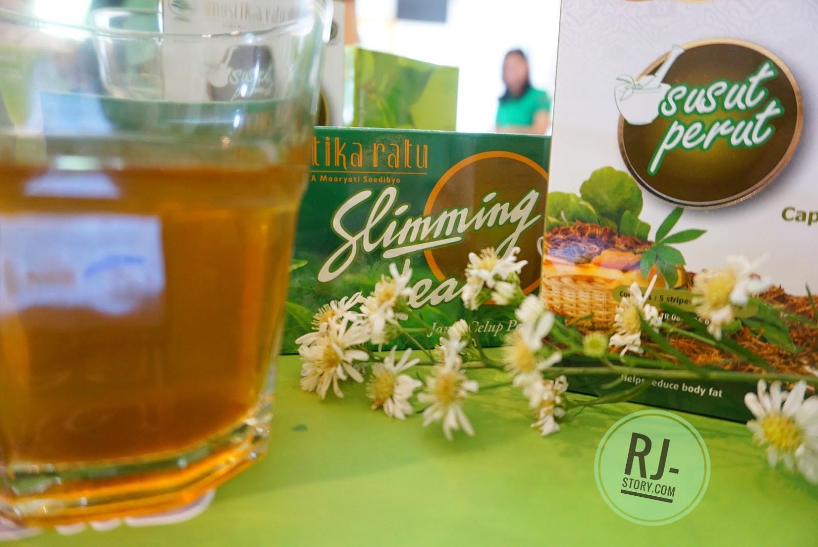 [Review] Ever Slim Diet Tea, Orihiro Night Diet Tea, dan Slimming Tea Mustika Ratu