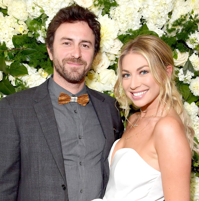 Stassi Schroeder's Fiancé Beau Clark Shares New Photo Of Her Growing Baby Bump On 1-Year Engagement Anniversary — See Pic Here!