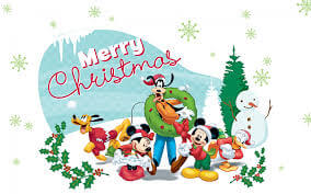 Merry Christmas Images Disney
