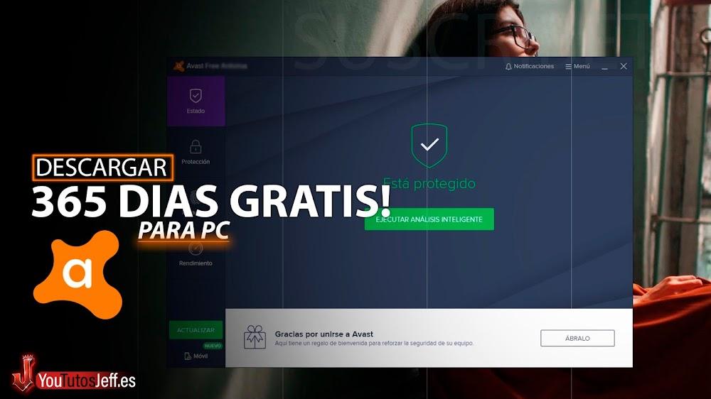 Descargar AVAST ANTIVIRUS 2020 GRATIS 365 DÍAS😍🔥