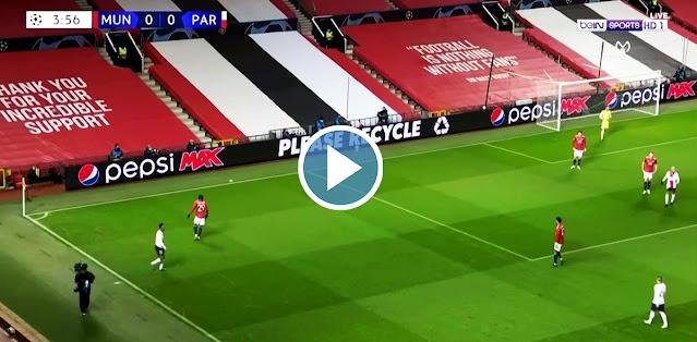 Manchester United vs Paris Saint-Germain Live Score
