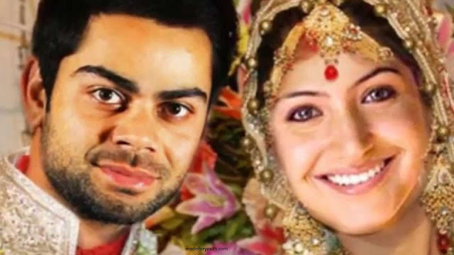 Virat Kohli & Anushka Sharma Wedding Pics | Images of Virat - Anushak Marriage