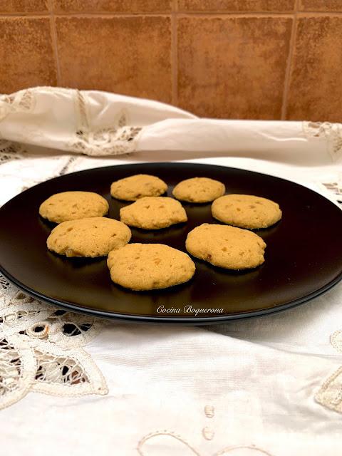 Galletas con jengibre deshidratado (sin gluten y sin lácteos)