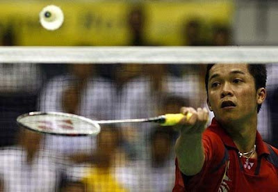 netting badminton tecnique