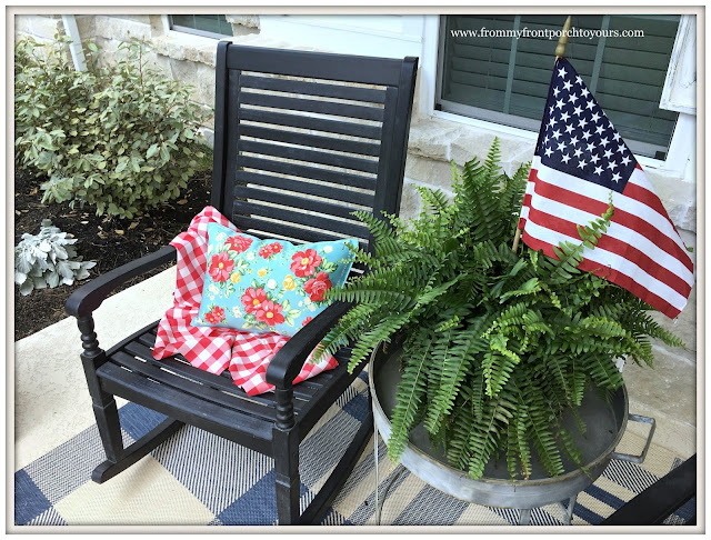 Pioneer Woman Placemats-DIY-Porch Pillows-From My Front Porch To Yours