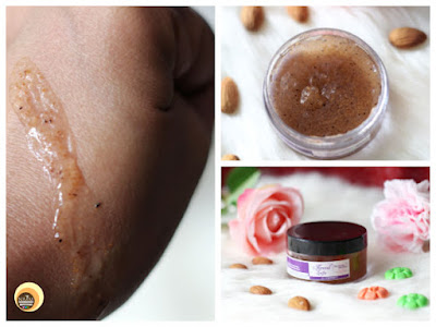 Aroma Essentials Almond Exfo Review for normal to dry, combination skin