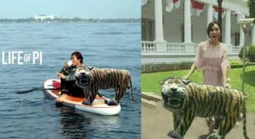 Kenang-Kenangan Meme kocak Macan Lucu Cisewu