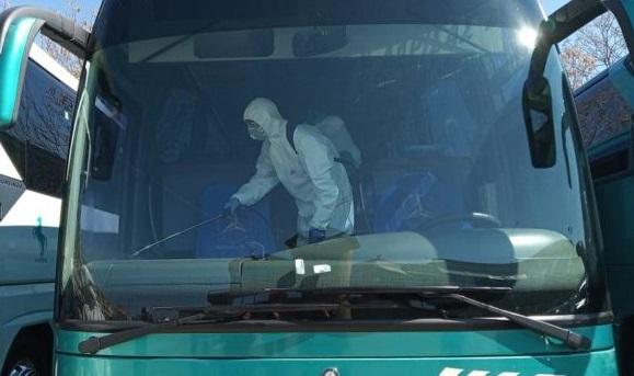 Απολυμάνσεις στα λεωφορεία του ΚΤΕΛ Αργολίδας