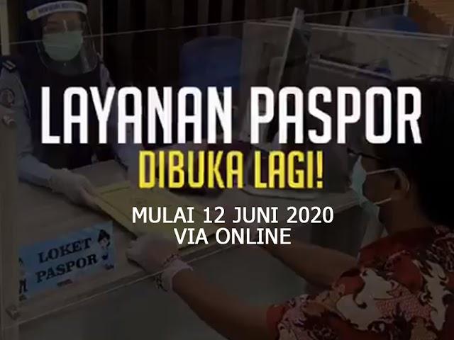Layanan Pembuatan Paspor di Kantor Imigrasi Bandung Dibuka Kembali Mulai 12 Juni 2020