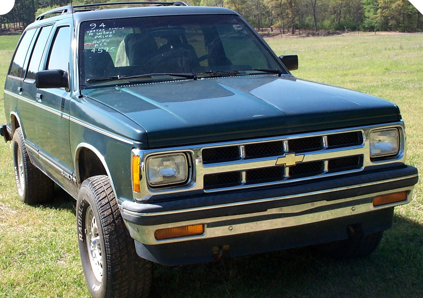 Torggil's World: Driving History 7: My last owned Canadian Car, the 93 Blazer part one