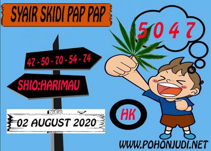 Kode syair Hongkong Minggu 2 Agustus 2020 270