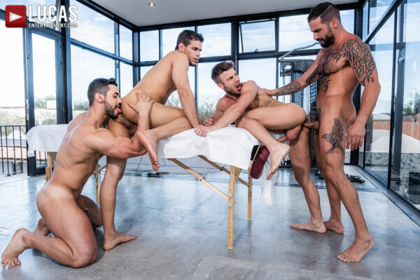 Orgy has Rico Marlon, Allen King and more