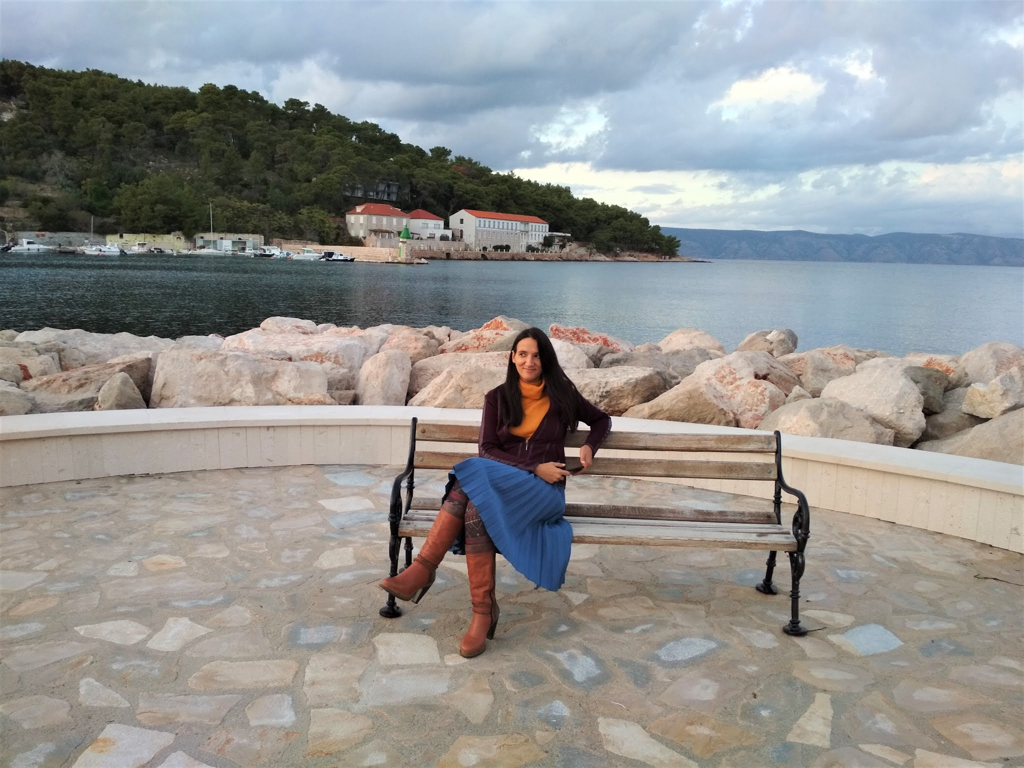 ONE YEAR LIVING IN JELSA ON ISLAND HVAR: 5 OUTFITS  #modaodaradosti
