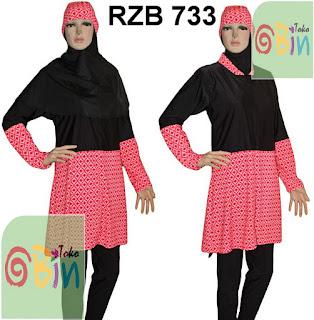 baju renang syari RZB 733