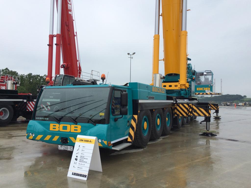 Visit To Liebherr Ehingen Customer Day 2015 - Mobile Cranes