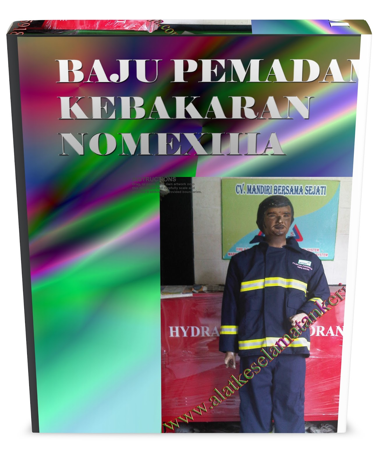 Baju nomex pemadam kebakaran gedung beringkat
