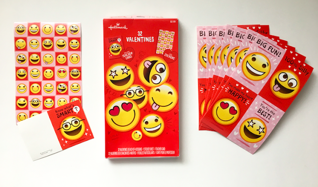 Hallmark Valentine's Day 2017 - Emoticon Cards #LoveHallmarkCA