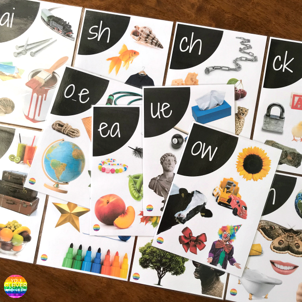 Digraph EDITABLE Wall Posters | you clever monkey