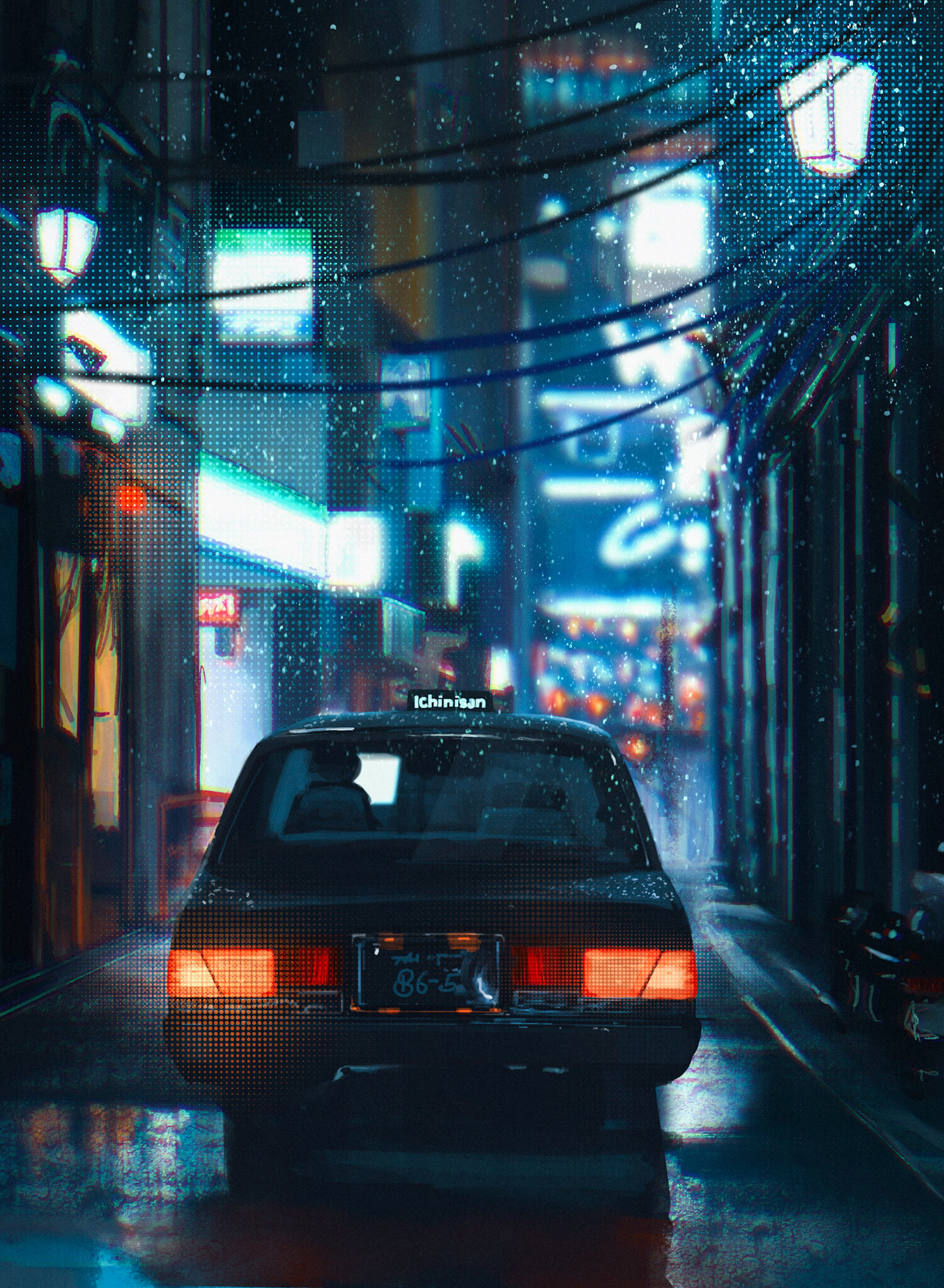 wallpaper iphone car in the street