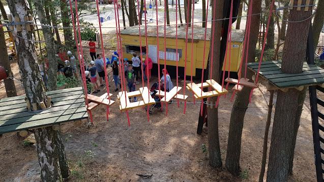 Urodziny Park linowy