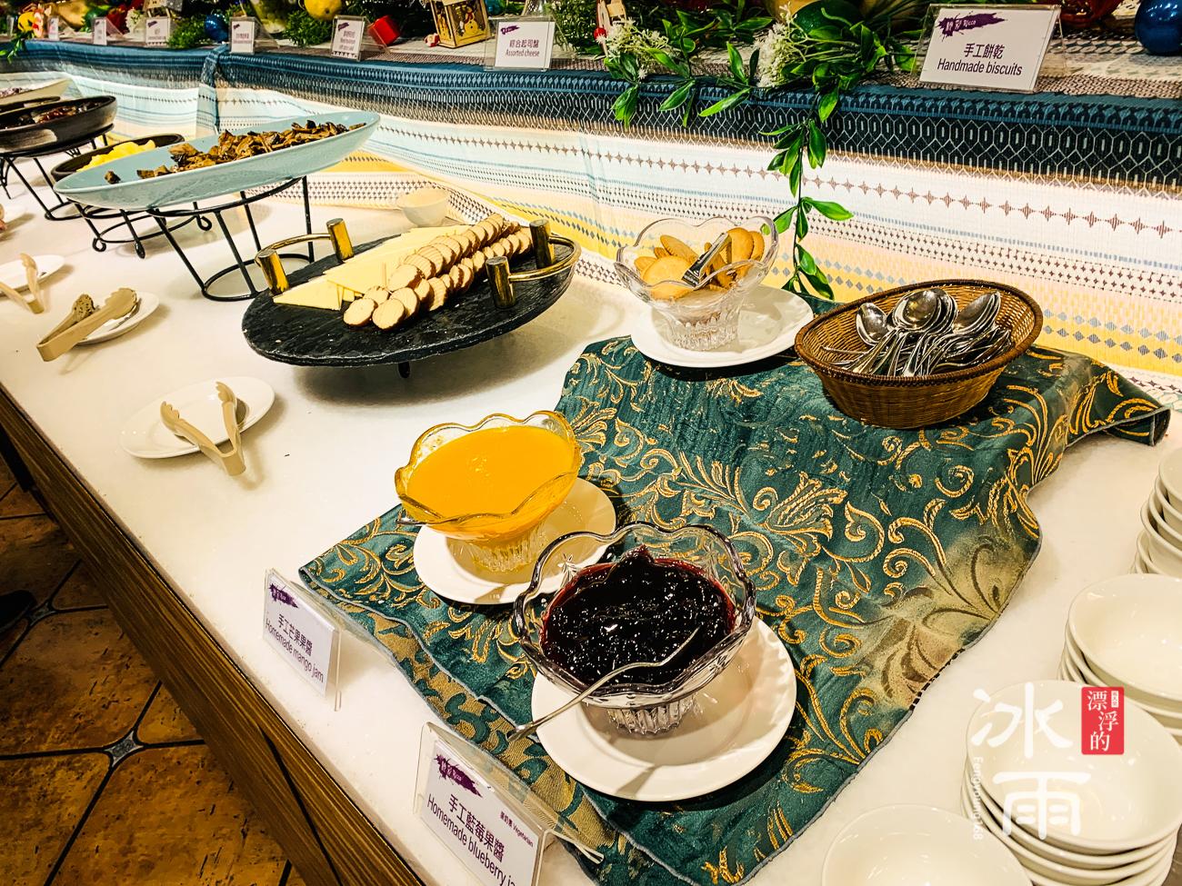 陽明山天籟溫泉會館|早餐菜色|果醬