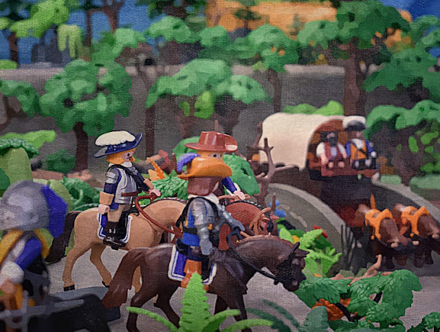 English Civil War Playmobil Figures