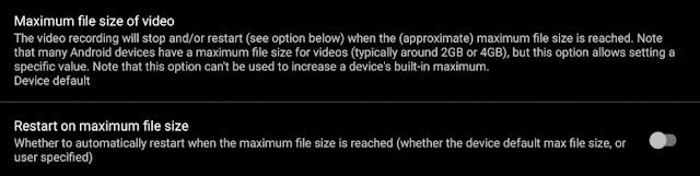 طريقة لتسجيل ملفات الفيديو التي يزيد حجمها عن 4 جيجا بايت