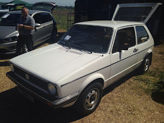 The Volkswagen Golf Mk I was one of  Giugiaro's most successful designs, the car selling 6.8 million units