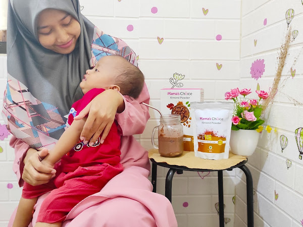 Review ASI Booster Mama's Choice Almond Powder