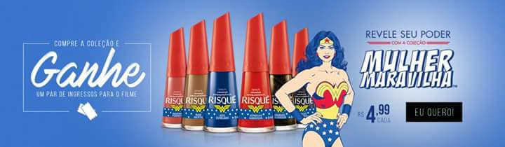 Super Promoção / Nova Coleção De Esmaltes Mulher Maravilha