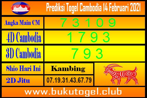 Prediksi Kamboja 14 Februari 2021