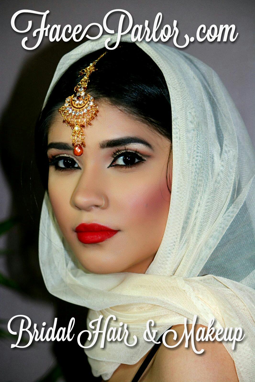 Top indian bridal makeup artist new york city Queens long Island jersey Poconos Faceparlor.com