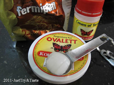 Mengenal Baking Powder, Baking Soda, Cream of Tartar, Cake Emulsifier & Ragi Roti