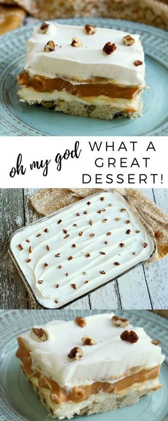 Oh My God, What a Great Dessert!