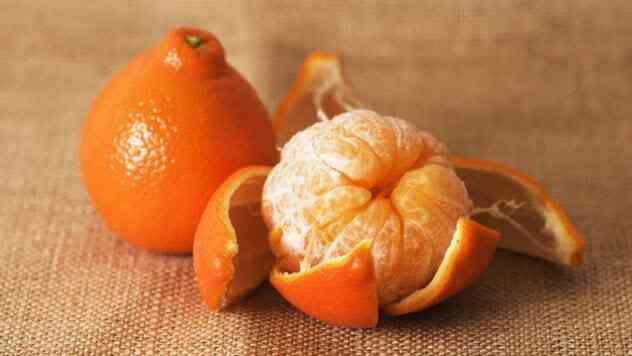 المندرين Tangelo mandarin